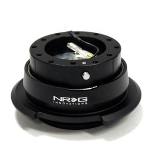 NRG Steering Wheel Quick Release Gen 2.8 Black Diamond Cut (Part: SRK-280BK) Free Standard Shipping by Quick Release