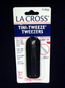 La Cross Tini-tweeze Tweezers, Slant Tip (71926) by La Cross