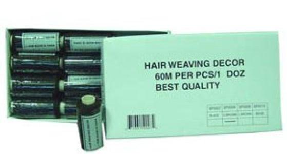 Hair Weaving Thread. 60m. Black by Annie