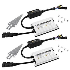 1 Pair 55W AC Digital Bi-Xenon HID Ballast Replacement Conversion Kit 9004-3 H4-3 H13-3 H13-4 9005 9006 9007 H10 H11 by Anzio
