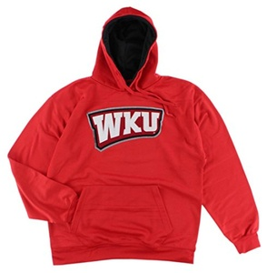 Old Varsity Mens Western Kentucky Toppers Pullover Hoodie Red XL