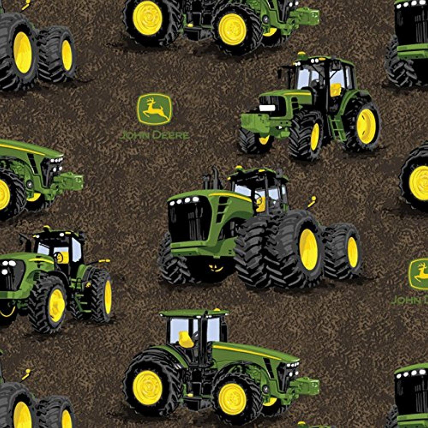 John Deere Proven Power Tractor Fabric From Springs Creative By The Yard