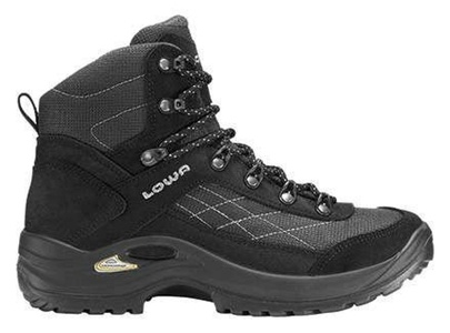 Lowa W Taurus Gtx MID - Black - EU 41.5 / UK 7.5 / US 9.5 - Womens breathable waterproof Gore-Tex multi-functional shoe by Lowa