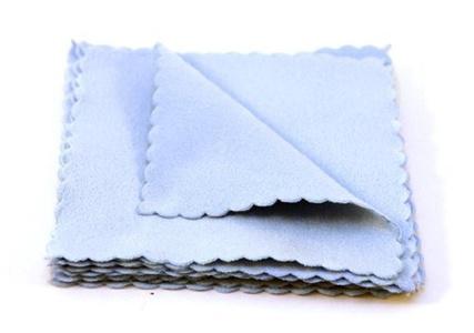 Carpro Suede Microfiber Cloths 10 X 10 Cm, 10 Pack by Suede Microfiber