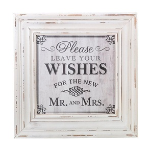 Lillian Rose Wishes Square Sign, 24 x 20