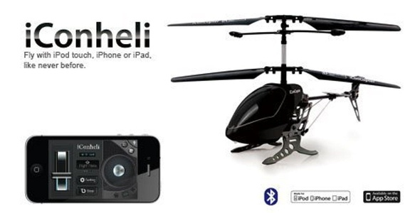 iConheli Interactive R/C Helicopter by Woddon Industrial