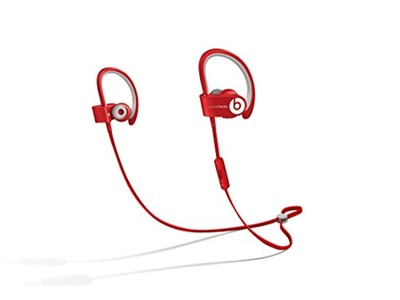 Sports Stereo Noise Isolating Powerbeats 2 Wireless Bluetooth HeadPhones Red