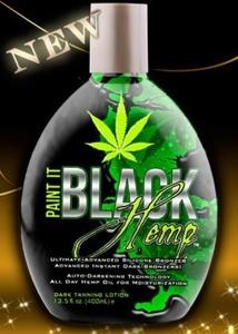 Paint It Black Hemp Bronzer By Millennium 13.5oz by Millennium Tanning Products