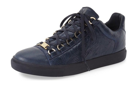 ZXD Casual Low Top Lace up Sneakers Comfortable Round Toe Running Shoes Skateboard Flats Unisex Navy 9 B(M) US Women/7.5 D(M) US Men