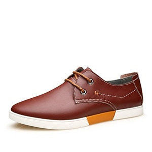 Spring and autumn fashion casual shoes/Mens shoes/England men's casual shoes lace/ Trend board shoes Male-F Foot length=24.8CM(9.8Inch)