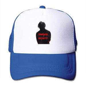 Adult Travis Scott Adjustable Mesh Hat Trucker Baseball Cap RoyalBlue