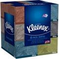 Kleenex Everyday Facial Tissues, 160 Tissues per Flat Box, Pack of 6