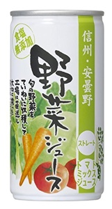 Gold Pack Shinshu-Azumino vegetable juice straight salt with no additives 190gX30 this by GOLD PACK 2016