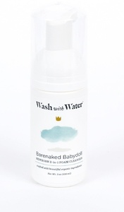 Wash with Water - Certified Organic Skin Care Collection for Infant I Newborn I Baby I Toddler I Big Kid: Body Wash, Cleanser, Shampoo, Spray