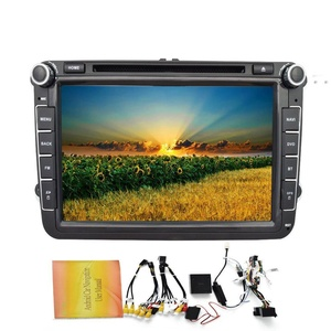 Eincar 8 Inch Android 4.4 Quad Core Car DVD Player Built-in GPS Navigation bluetooth support WIFI Mirror Link Car Stereo Special for Volkswagen with Canbus