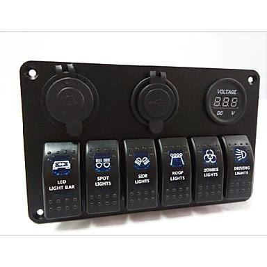 LED Rocker Switch Panel(New Products)