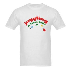 Juggling It Takes Balls Funny Saying Short Sleeve T-Shirt Tee for Men