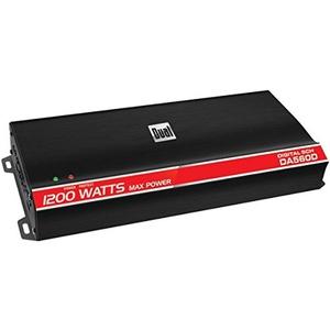 DUAL DA560D Digital Compact Series Class D Amp (5 Channels, 1,200 Watts )