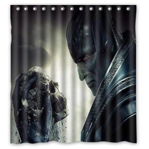 Personalized Custom Fashion X-Men Shower Curtain Bathroom Decoration Mildew Waterproof Polyester Fabric Shower Curtains 66