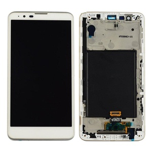 New LG G Stylus 2 LS775 Touch Screen Digitizer+LCD Display Assembly White Frame