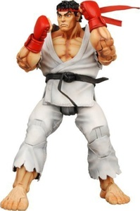 Street Fighter 4 - Ryu Action Figure by Street Fighter