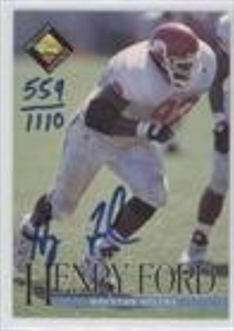 Henry Ford #559/1,110 (Football Card) 1994 Classic Pro Line Live - Autographs #HEFO