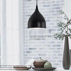 Pendant Lights Modern/Contemporary Bedroom/Dining Room/Kitchen/Study Room/Office Metal , Black