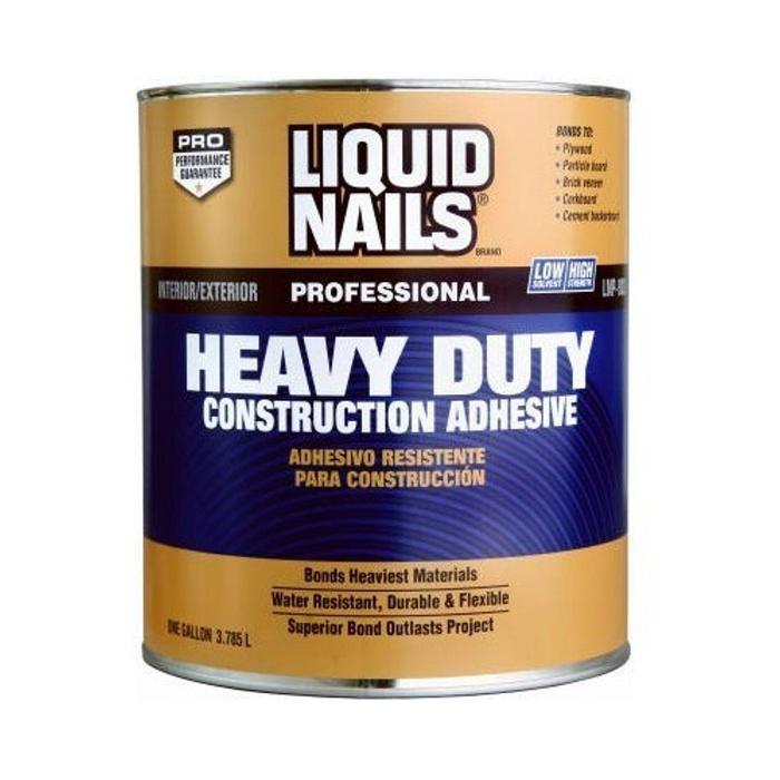 Heavy Duty Wood Glue : Online store liquid nails ln g gallon heavy duty