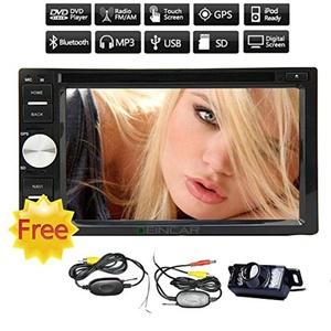 Double 2 Din Car DVD Player Autoradio Bluetooth in Dash car stereo Receiver 2din FM/AM Car Radio Car Deck Video Audio GPS Navigation Headunit Android 4.2 wifi/sd/usb/steering Wheel Control/Wireless Reverse camera