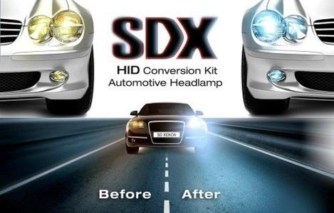 SDX HID Headlight DC Xenon Premium Conversion Kits - 9007 (HB5) Bi-Xenon - 6000K by SDX