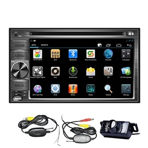 EinCar Android 4.2 Double Din 6.2 inch Capacitive Touch Screen Car Stereo Radio In Dash GPS DVD Player Navigation + Free Backup Reversing Camera