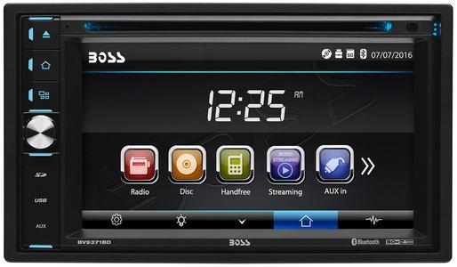 Boss Audio Systems BV9370B Bluetooth, In-Dash, Double-Din, MP3, Digital Media (No CD/DVD) AM/FM Receiver