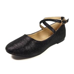 Nova Utopia Toddler Little Girls Dress Ballet Ankle Strap Bow Flat Shoes,NF Adora Girl BA0041 Champagne 3