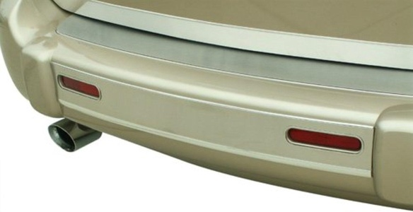 American Car Craft Chevy HHR Stainless Steel Rear Bumper Insert - 422013