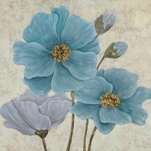 Yosemite Home Decor Blooming Blue Wall Art