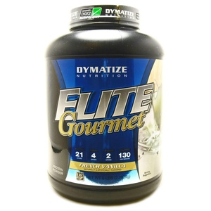 Bundle - 2 items: 1 Elite Gourmet French Vanilla Protein By Dymatize - 5 Pounds and 1 VDC Shaker Cup
