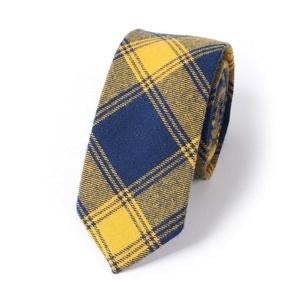 Mantieqingway Men's Plaid Jacquard Skinny Necktie Narrow Tie (03)