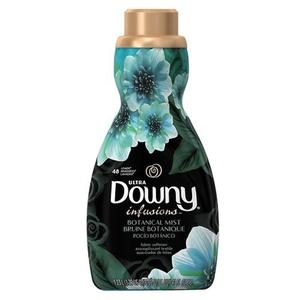 3 x Downy Infusions Liquid Fabric Conditioner, Botanical Mist Liquid 41 oz