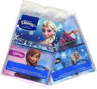Frozen Kleenex Slim Pack Facial Tissue (4 Individual Packs) by Kleenex