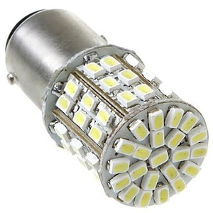 1157/BAY15D 2057 64 1206 SMD LED Car Tail Brake Stop Turn Light Bulb Lamp White