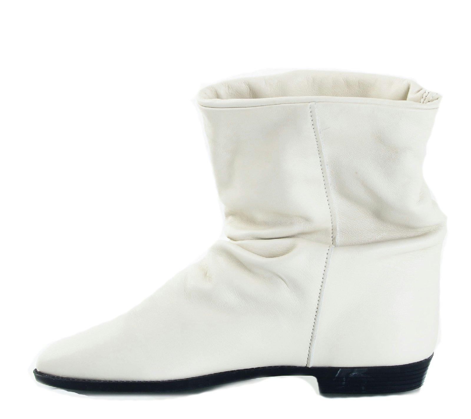 Dexter Women's Juliet Leather Bootie, Winter White, 6