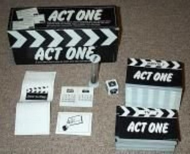 Act One It's... Show Time Game by Card Games B.E. Game Corp.