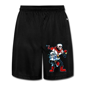 DW Athletic Men's Undertale Papyrus Mesh Shorts With Pockets - XXX-Large