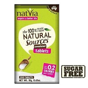 Natvia Sugar Free Sweetener Tablets 200 per pack - Pack of 2 by Natvia