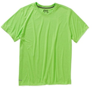 Starter Men's Performance Training Fit Athletic T-Shirt (Large, Lime Green)