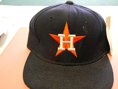 Houston Astros Fitted Baseball Hat By Sports Specialties Size 6 7/8