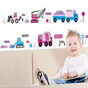 Cars Wall Stickers Children Room Home Decor Baby Adhesive for Kids Room