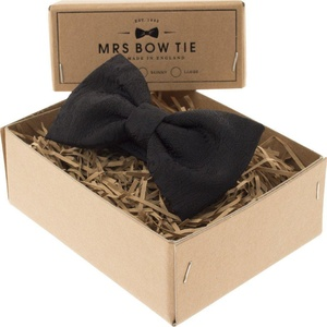 Mrs Bow Tie Buckingham Ready-Tied Bow Tie - Black