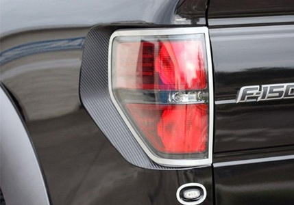 American Car Craft Ford F-Series Carbon Fiber Tail Light Wrap - 772004