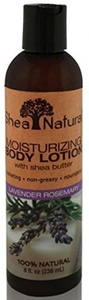 Shea Natural Moisturizing Body Lotion, Lavender Rosemary 8 Fz by Shea Natural